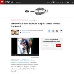 Cop Stomped Suspect's Head