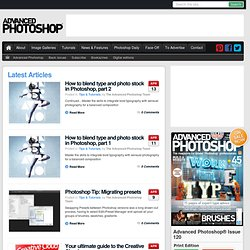 Official Advanced Photoshop Blog