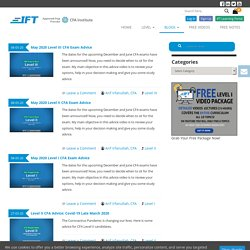 Official Blog of IFT