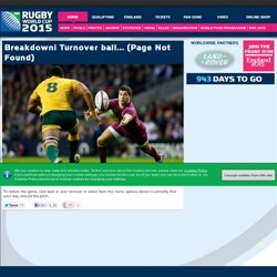 Official RWC 2011 Site