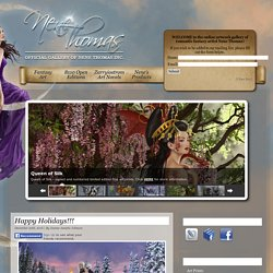 The Official Gallery of Romantic Fantasy Artist Nene Thomas