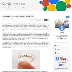 Introducing our smart contact lens project