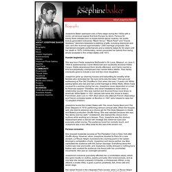 The Official Josephine Baker Website