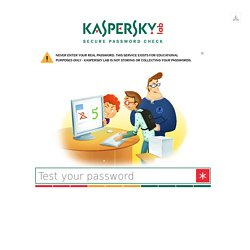 The Official Blog from Kaspersky Lab covers information to help protect you against viruses, spyware, hackers, spam & other forms of malware.