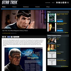 Star Trek Star Trek: The Official Magazine's Nimoy Tribute