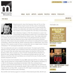 The Official Masterworks Broadway Site