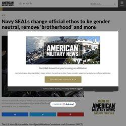9/28/20: Navy updates SEAL ethos with gender-neutral language
