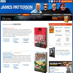 The Official James Patterson Website