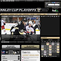 The Official Web Site - Pittsburgh Penguins - Firefox