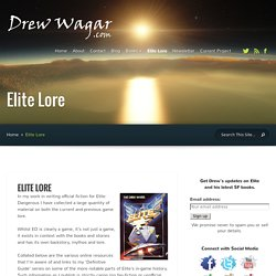 Drew Wagar Official Site - Home of Elite: Reclamation and the Shadeward Saga