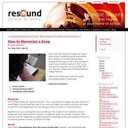 Official Resound School Blog