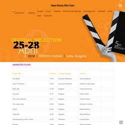 Official Selection – New Wave Film Fest