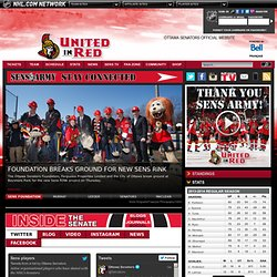 The Official Web Site - Ottawa Senators
