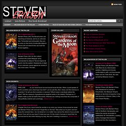 Official Site of Steven Erikson