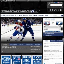 The Official Web Site - Tampa Bay Lightning