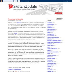 A new home for SketchUp