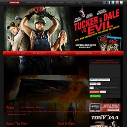 TUCKER & DALE VS EVIL - Starring Tyler Labine, Alan Tudyk and Katrina Bowden - On Demand 8/26 and In Theatres 9/30 - Trailers, Pictures & More
