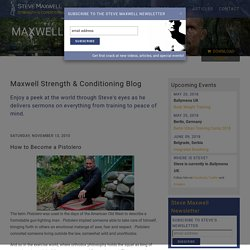 The Official Steve Maxwell Website