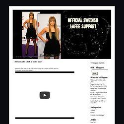 OFFICIAL SWEDISH LAFEE SUPPORT -