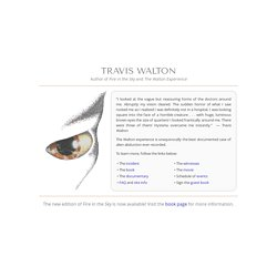 The Official Travis Walton Web Site