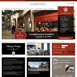 Hotel Royal St Honore Paris - Official Website - Luxury Hotel Paris Opera