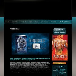 Official Website for author Jacquelyn Frank