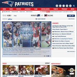 Official Website of the New England Patriots | Home