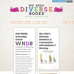 Official site of the #WeNeedDiverseBooks Campaign