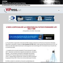 L'IEEE a officialisé la création du futur standard LiFi 802.11bb - VIPress.net