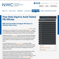 Penn State Urged to Avoid Tainted FBI Officials - National Whistleblower Center