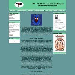 Site Officiel de l'Association Française des Malades des la Thyroïde