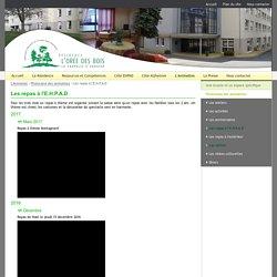 Site officiel de l'EHPAD de la Chapelle d'Andaine - Les repas à l'E.H.P.A.D