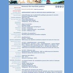 Site officiel de la commune d'Equihen-Plage - Annonce de marchés publics