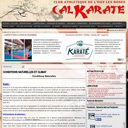 C.A.L Karaté – L'Haÿ-les-Roses (94240) – Site Officiel - CONDITIONS NATURELLES ET CLIMAT