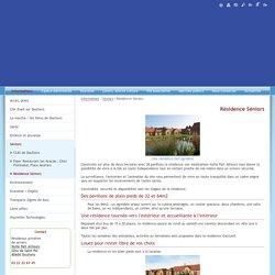 Site officiel de la mairie de Doullens - Résidence Séniors