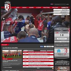 Site officiel du LOSC Lille Métropole