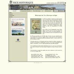 Site Officiel : Nice Historique (Acadèmia Nissarda - Copyright © 2003-2004).