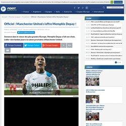 Officiel: Manchester United s'offre Memphis Depay!
