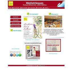 Site officiel des médiathèques de Thau-Agglo