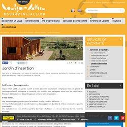 Site Officiel de la Mairie de Bourgoin-Jallieu - Services De Proximité » Actions Sociales » Jardin D'insertion