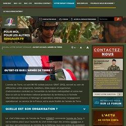 Site officiel du recrutement de l'Armée de Terre - Qu'est-ce que l'armée de Terre ?