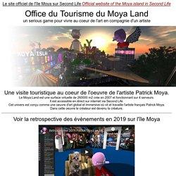 Le site officiel de l'île Moya sur Second Life - serious game contemporary art virtual museum VR virtual reality