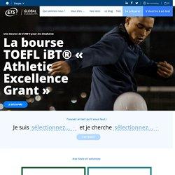 Site officiel des tests d'anglais TOEIC et TOEFL