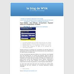 le blog de WYM » Blog Archive » Tour Hebdo - site officiel - E-tourisme : Ryanair lance un comparateur d'hôtels