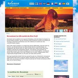 Le site officiel du tourisme de Rovaniemi en Laponie en Finlande
