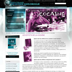 Short- & Long-Term Side Effects of Cocaine - Brain Damage - Drug-Free World
