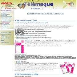 Télémaque - Références officielles pour la littérature de jeunesse