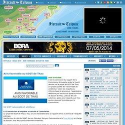 OFFICIELS - AGGLO SÈTE : Avis favorable au SCOT de Thau
