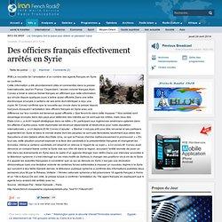 15/11/2013 officiers français arrêtés