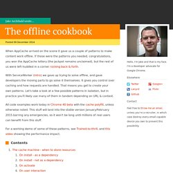 The offline cookbook - JakeArchibald.com
